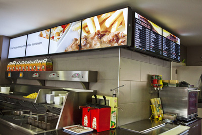 Digital Menu Boards & Digital Signage